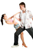 Dancing couple Stock Images