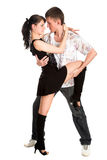 Dancing couple Royalty Free Stock Photography