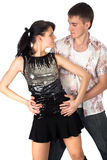 Dancing couple Royalty Free Stock Photo