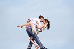 Dancing couple Royalty Free Stock Images