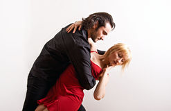 A dancing couple Royalty Free Stock Images