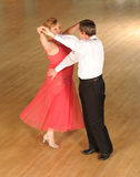 Dancing couple. Middle aged Caucasian couple dancing Royalty Free Stock Photography
