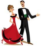 Dancing couple Royalty Free Stock Photos