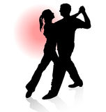 Dancing couple. Stock Photos