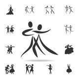 Dancing couple icon. Set of people in dance  element icons. Premium quality graphic design. Signs and symbols collection icon for. Websites, web design, mobile Stock Photos