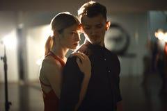 Free Dancing Couple Portrait Stock Images - 129759894