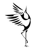 Dancing cranes 1 Royalty Free Stock Image