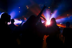 Dancing Crowd. Stock Photography
