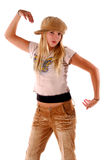 Dancing del bambino della ragazza Fotografie Stock