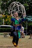 Dancing del cerchio del Navajo Immagini Stock