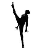 Dancing del danzatore dell'uomo Fotografia Stock Libera da Diritti