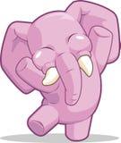 Dancing dell'elefante illustrazione di stock