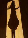 Dancing dell'ombra Fotografia Stock Libera da Diritti