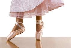 Dancing della ballerina Fotografia Stock Libera da Diritti
