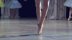Dancing della ballerina stock footage