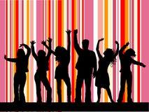 Dancing della discoteca Fotografie Stock Libere da Diritti