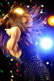 Dancing della donna Immagini Stock Libere da Diritti