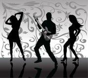 Dancing della gente Fotografia Stock Libera da Diritti