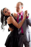 dancing della moglie e del marito immagine stock