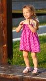 Dancing della ragazza Fotografie Stock Libere da Diritti
