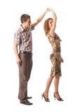 Dancing delle coppie Immagini Stock Libere da Diritti