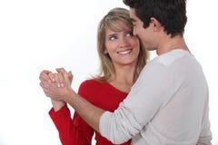 Dancing delle coppie Fotografie Stock Libere da Diritti