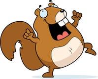 Dancing dello scoiattolo Fotografia Stock
