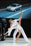 Dancing dello straniero Fotografia Stock Libera da Diritti