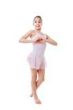 Dancing di balletto di amore Immagine Stock