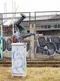 Dancing di Breakdancer Fotografie Stock
