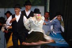 Dancing di folclore in Algarve fotografia stock libera da diritti