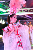 Dancing di Ladyboy Immagine Stock