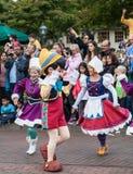 Dancing di Pinocchio Fotografia Stock