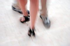 Dancing di tango Fotografia Stock