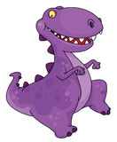 Dancing dinosaur stock illustration