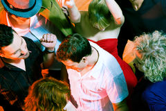 Dancing in the disco Stock Photography