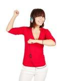 Dancing DJ Royalty Free Stock Photo