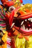 Dancing dragon Stock Images