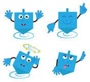 Dancing Dreidel Royalty Free Stock Image