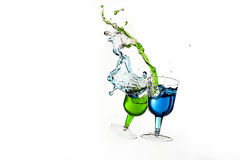 Dancing Drinks Stock Images