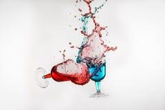 Dancing Drinks Stock Image