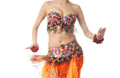 Dancing elegance royalty free stock image