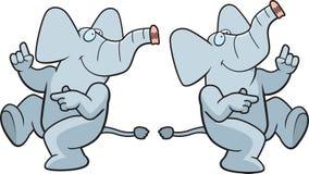 Dancing Elephant Royalty Free Stock Image