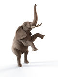 Dancing elephant Royalty Free Stock Photography