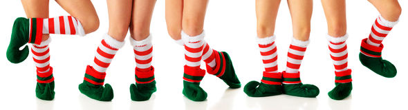 Dancing Elves Royalty Free Stock Images