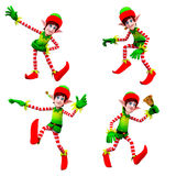 Dancing elves Stock Photography