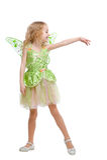 Dancing fairy girl Stock Image