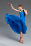 Dancing fashion model. Stock Photos