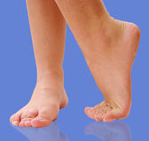 Dancing feet Stock Image