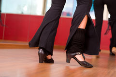Dancing feet Royalty Free Stock Images